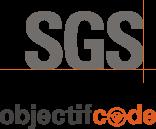 Logo SGS Objectif code